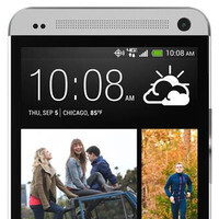 HTC One for Verizon pictured with no carrier logo in front