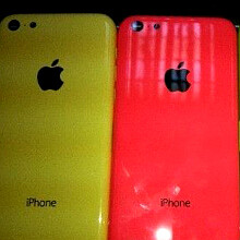 Candy wrappers: alleged yellow and red chassis for the budget iPhone leaks out