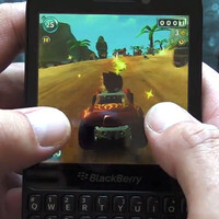 BlackBerry Q5 handles video games just fine, but selection could be better