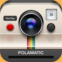Get your nostalgia on with the Polamatic app for Android from Polaroid