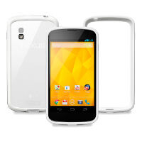 White Nexus 4 listed as
