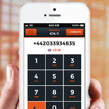 Use your own number on local rates when traveling with Roamer app for Android and iOS