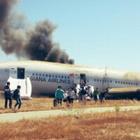 Samsung executive onboard plane that crashed in San Francisco, sent messages on Path and Twitter