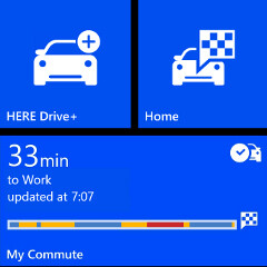 Nokia's HERE navigation apps unveiled for non-Lumia phones, too, add My Commute feature