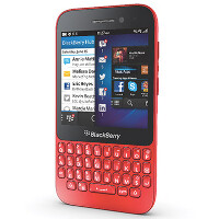 U.K.'s Carphone Warehouse now offers the BlackBerry Q5 in red
