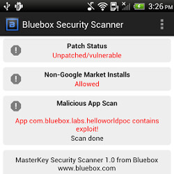 Bluebox Security Scanner app checks if you are patched against the Android 'Master Key' exploit