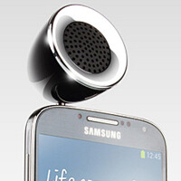 Ear Jack Mobile Phone Speaker fits in your phone's earphone jack, delivers improved audio