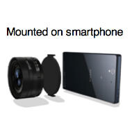 Sony may soon release a high-end camera attachment for smartphones