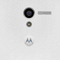 Motorola Moto X poses for yet another press shot, this time in white