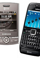 AT&T introduces Nokia E71x and Samsung Propel Pro