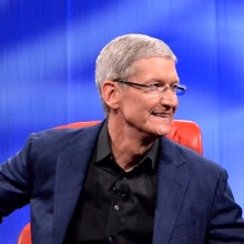 Apple's CEO Tim Cook doesn't see the high-end smartphone market as saturated yet