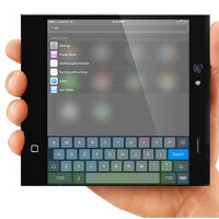 Apple iPhone 6 concept changes from phone to phablet to tablet using flexible screen
