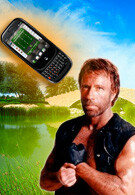 Chuck Norris has been robbed, because of the Palm Pre!