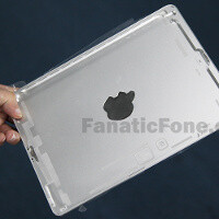 Apple iPad 5 aluminum back housing leaks, confirms iPad mini-like redesign