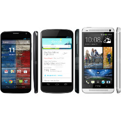 Moto X vs Nexus 4 vs HTC One specs comparison