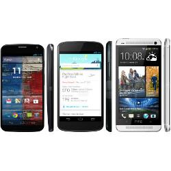 Moto X vs Nexus 4 vs HTC One specs comparison