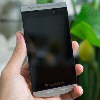 Hi-res photos of the Porsche Design BlackBerry leak out