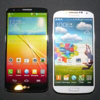 LG G2 vs Samsung Galaxy S4: first look
