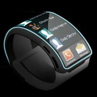 Samsung Gear smartwatch concept shows a future of flexible screens
