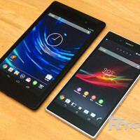 A giant phablet or a small tablet? The Sony Xperia Z Ultra gets sized up against the 2013 Nexus 7