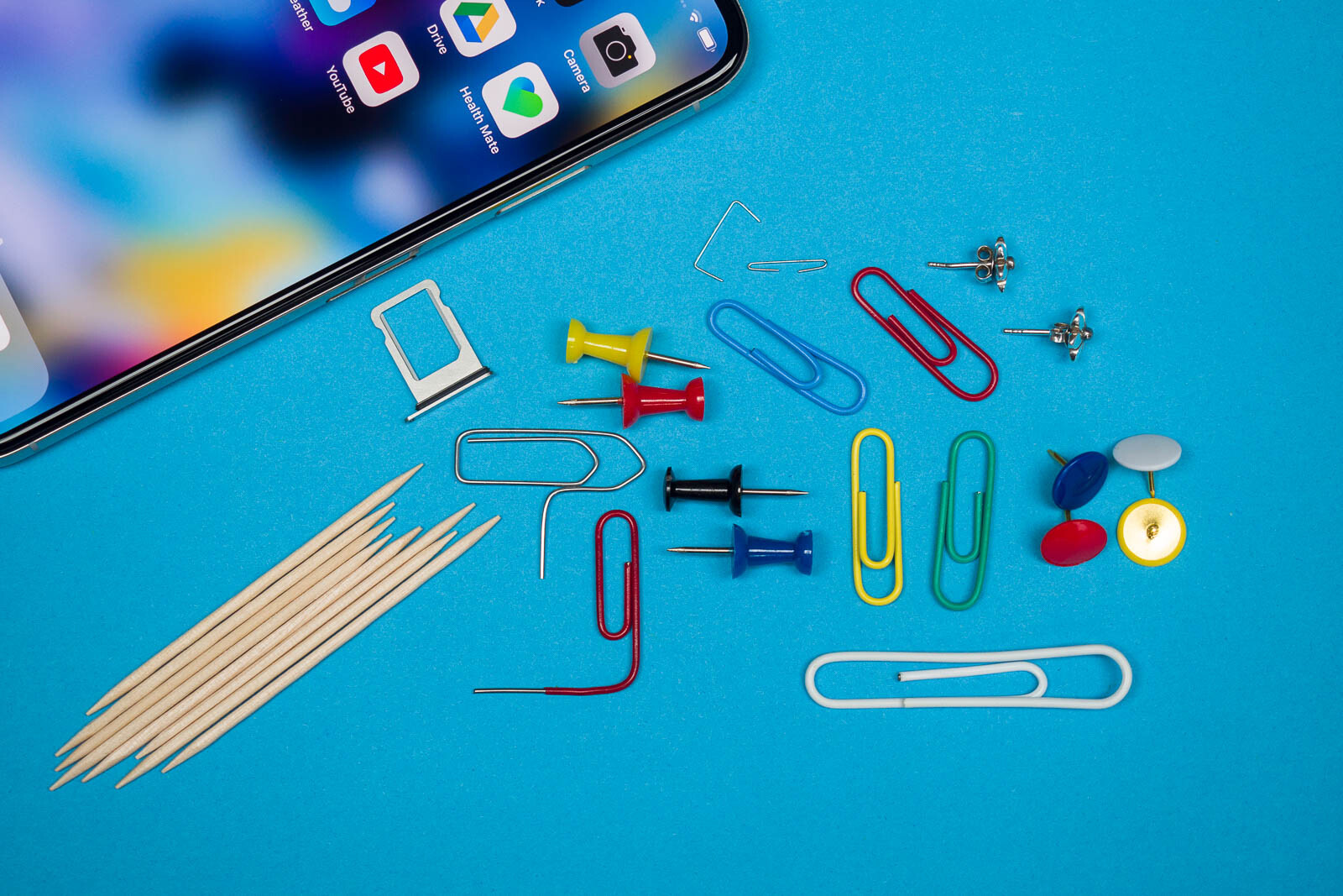 How to open a SIM card tray when an ejector tool isn't around (the MacGyver way)