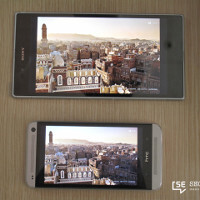 Sony Xperia Z Ultra's Triluminos display gets a side-by-side comparison with the LCD3 display on the HTC One