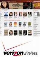 Verizon launches Media Store for MP3 downloads