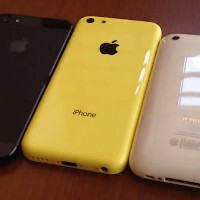 Video of the shell of the yellow iPhone 5C surfaces, gives us a nice visual tour of the iPhone's design evolution