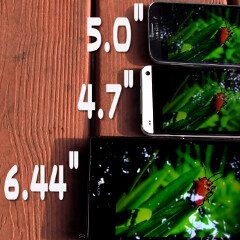 Sony Xperia Z Ultra Triluminos display panel pitted against the HTC One and Galaxy S4 (video)
