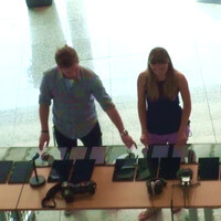 88 Microsoft Surface RT tablets combined creating a digital piano of monstrous size