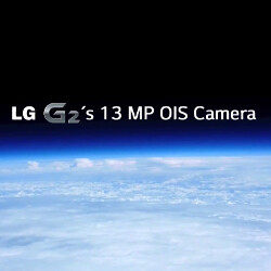 LG G2 sent to space to film Earth on its 13-megapixel OIS camera