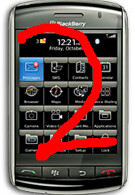 More info on BlackBerry Storm 2 says it will offer new way to type