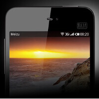 Meizu MX3 press photo sees the light of day; phone tipped to offer 128GB of storage
