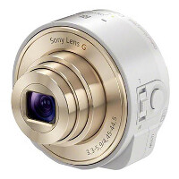 New interchageable lens to be called Sony Smart Shot; white and gold version makes an appearance