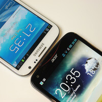 Acer Liquid S2 vs Samsung Galaxy Note II: first look