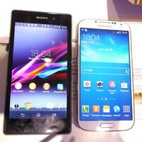 Sony Xperia Z1 vs Samsung Galaxy S4: First look