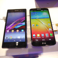 Sony Xperia Z1 vs LG G2: First look