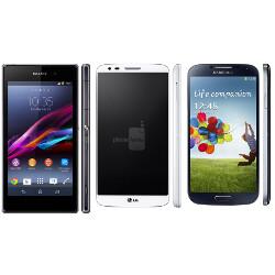 Sony Xperia Z1 vs Samsung Galaxy S4 vs LG G2 specs comparison: 5
