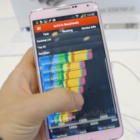 First Samsung Galaxy Note 3 GFXBench, AnTuTu and Vellamo benchmark results