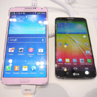 Samsung Galaxy Note 3 vs LG G2: first look