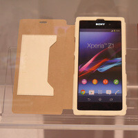 Premium Sony Xperia Z1 cases on display at IFA 2013