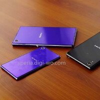 Sony Xperia Z1 Mini snapped alongside the Xperia Z1 in the clearest picture yet