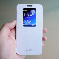 LG G2 QuickWindow case Hands-on