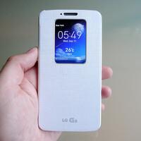 LG G2 QuickWindow case Hands-on