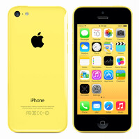 Which color is most popular with Apple iPhone 5c buyers?