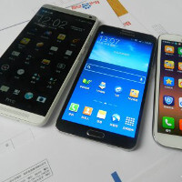 New HTC One Max photos pit it against the Galaxy Note 2 & 3