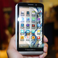 BlackBerry Z30 hands-on