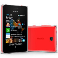 Nokia Asha 500 render shows an interesting new glass/polycarbonate shell design