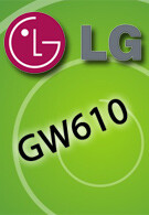 The GW610 - a new LG smartphone is on its way