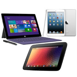 Microsoft Surface Pro 2 vs Apple iPad 4 vs Google Nexus 10: Silicon Valley MMA
